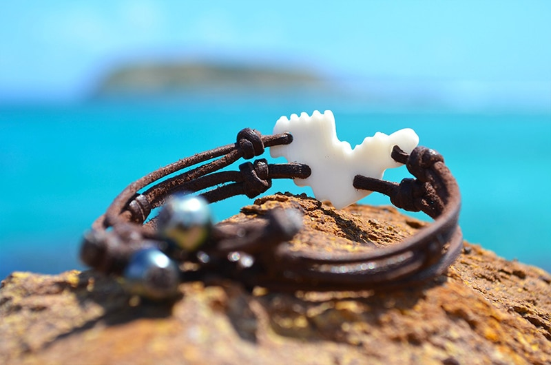 Bracelet coquillage St Barth