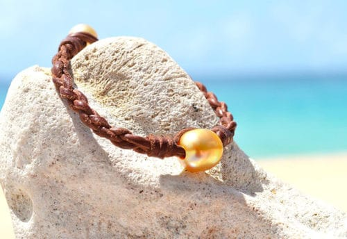 Bracelet perles d'Australie