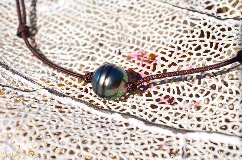 Collier ras du cou perle de Tahiti - 11mm