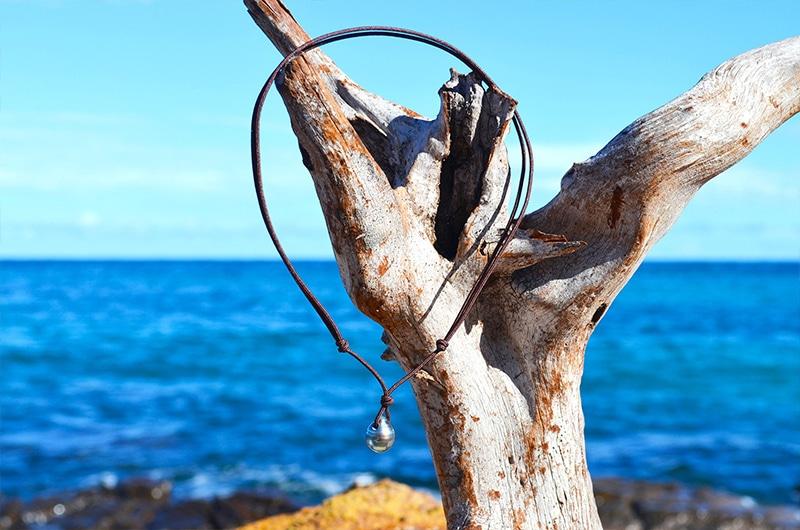 Pendant Necklace 1 Tahitian Pearl (10mm)