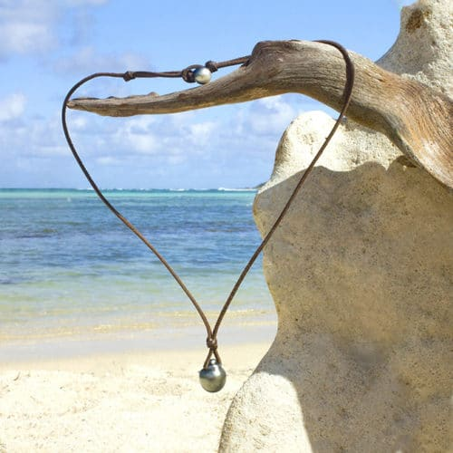 Pendant Necklace Tahitian Pearl