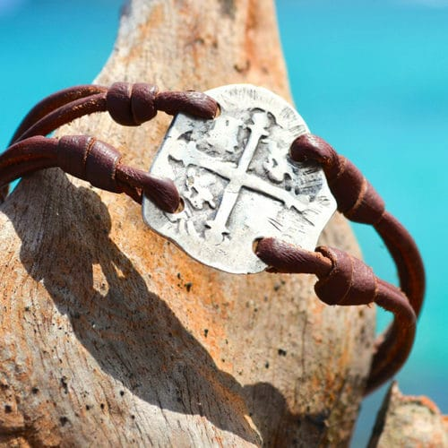 Pirate coin bracelet 2 real