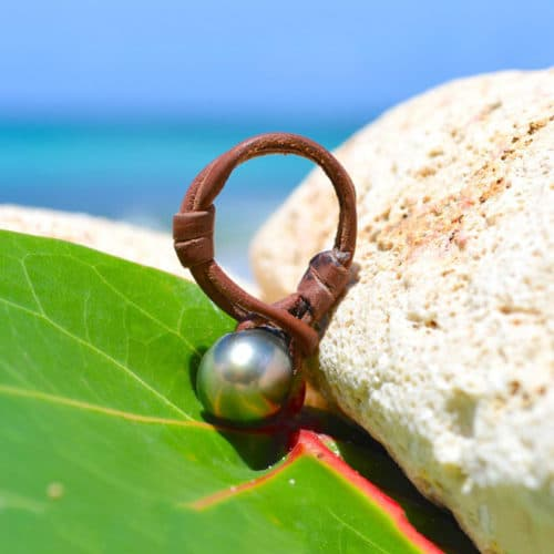 Ring 1 Tahitian pearl - 10.5mm