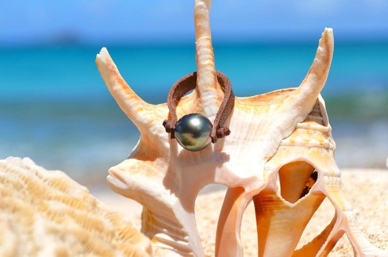 Ring 1 Tahitian pearl - 11.5mm