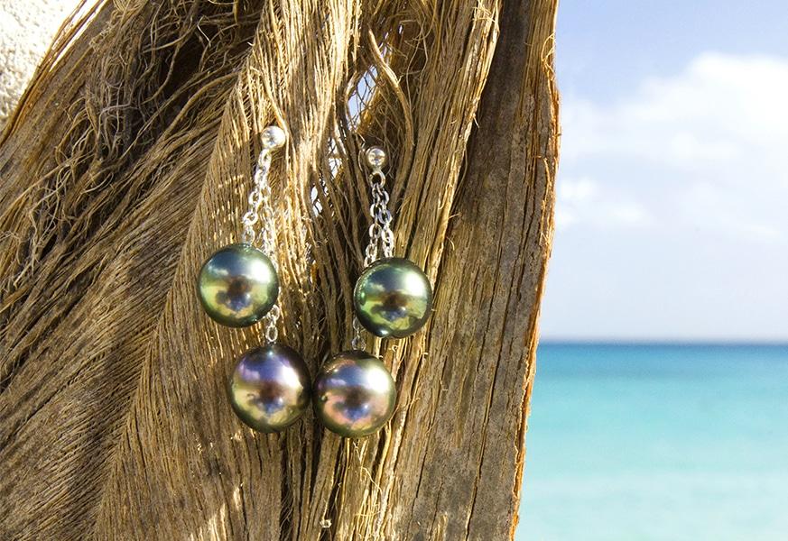Silver Earrings - Kalinas Perles