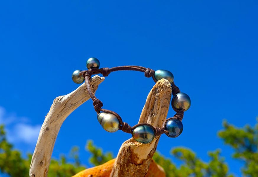 Tahitian Pearls Bracelet - Kalinas Perles
