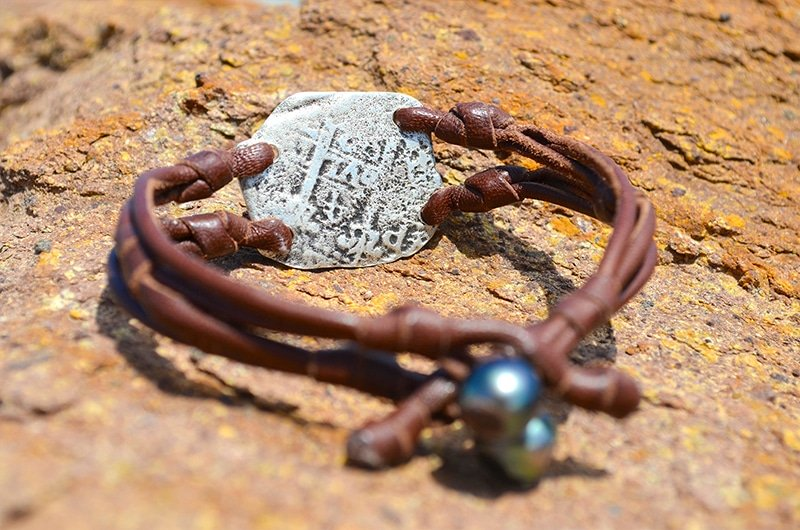Pirate coin bracelet 4 real