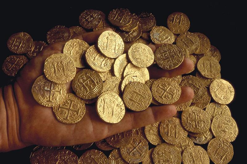 Monnaie des conquistadors : la pièce de pirate