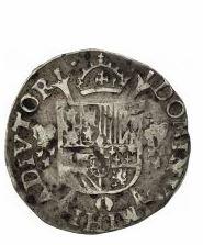 Pièces de monnaie mexicaine 1536